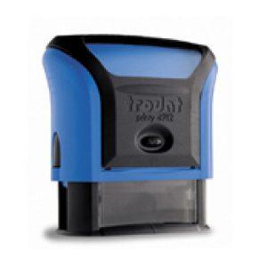 tiskarna matrica štampiljka modra