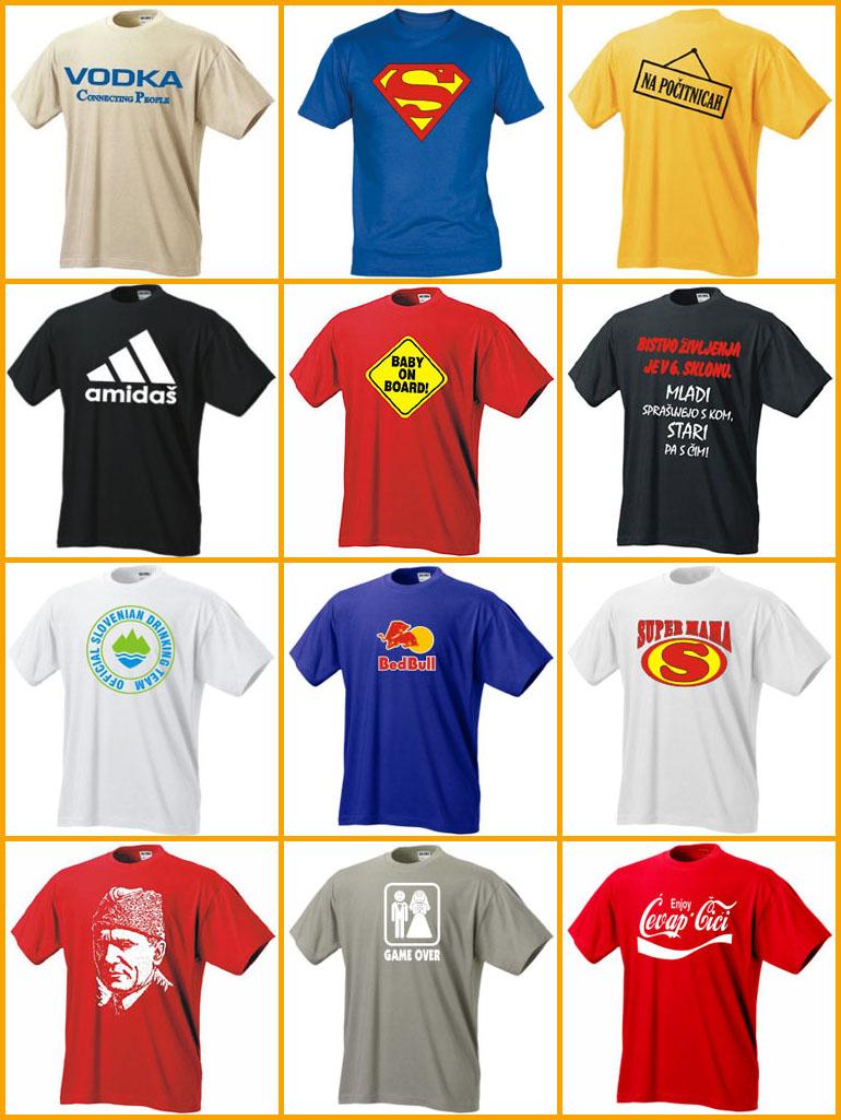 tiskarna matrica majice primeri